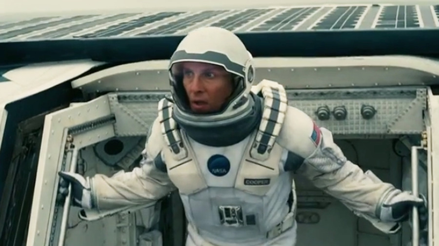 Still uit Interstellar van Christopher Nolan